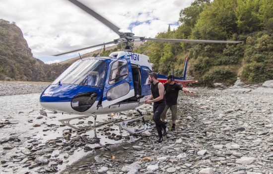 Shotover Heli Raft