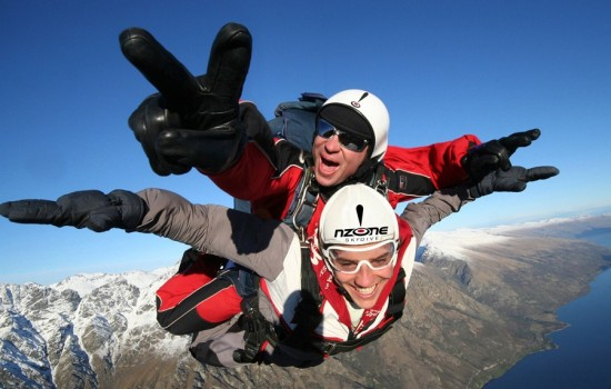 Shotover Freefall 9,000ft